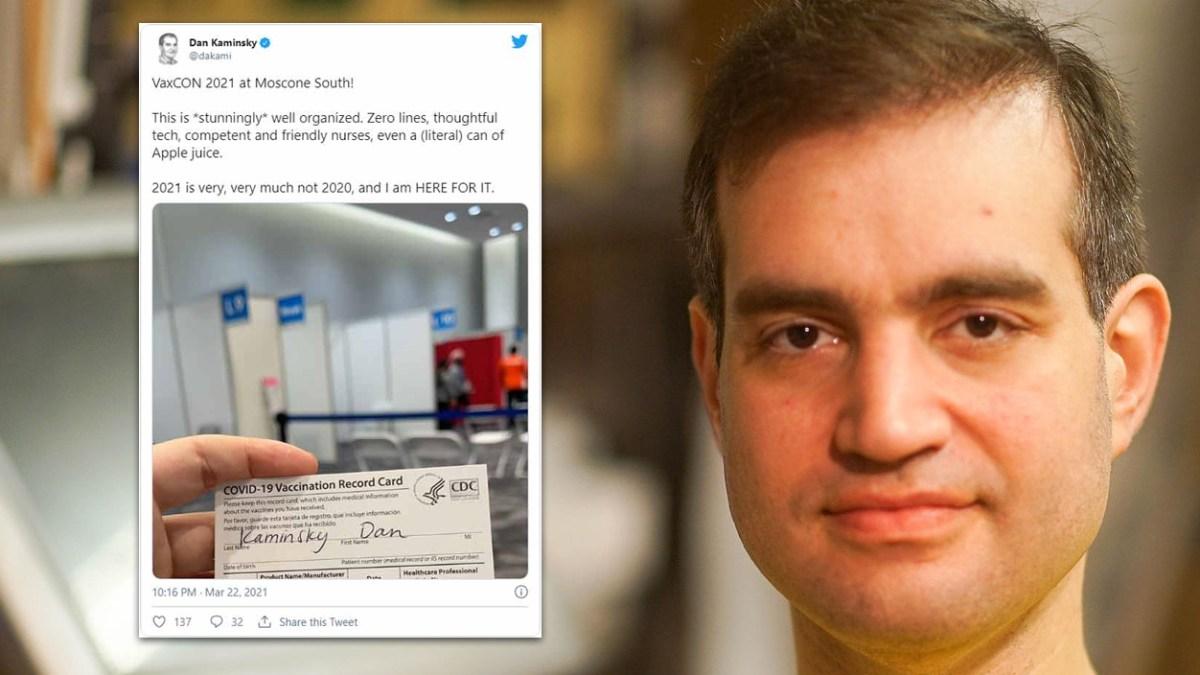 Le légendaire scientifique du web Dan Kaminsky est mort 10 jours après avoir reçu une 2e dose de Pfizer !