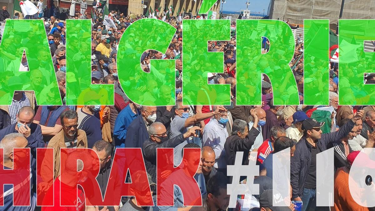 Algérie : manifestations exceptionnelles pour le 116e Hirak ! [vidéos + photos]