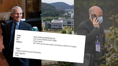 Un mail montre qu'un chercheur qui a financé le laboratoire de Wuhan, admet avoir manipulé des coronavirus et a remercié Fauci d'avoir rejeté la théorie des fuites de laboratoire