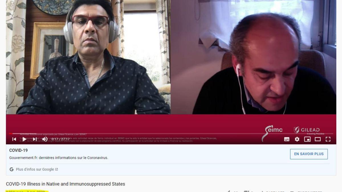 Corruption : Mandeep Mehra était lié à Gilead juste avant le scandale du Lancet gate !