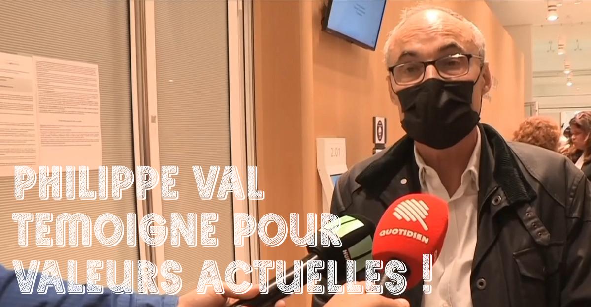 Procès Obono/Valeurs actuelles : Philippe Val « C'est un naufrage, c'est pitoyable » explique l'avocate des Droits de l'homme !
