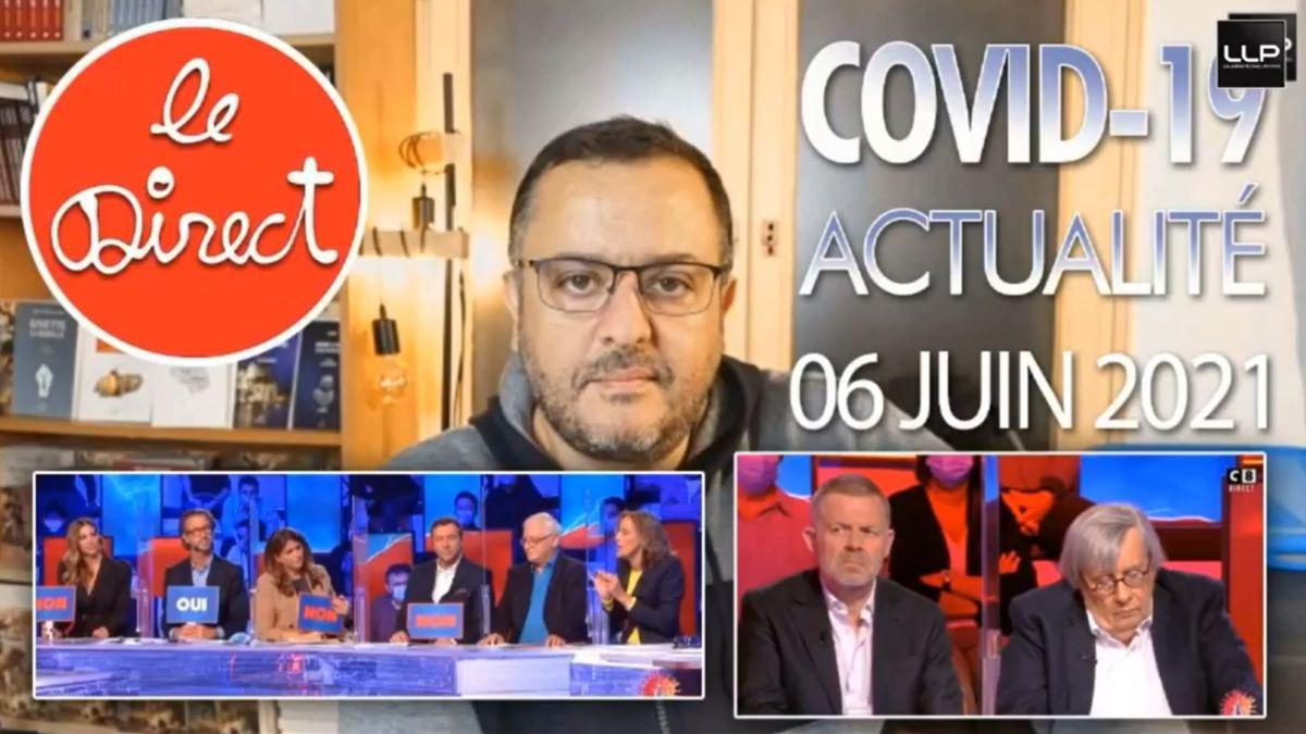 Direct du 6 juin 2021 : analyse de l'émission de TPMP avec les Drs Delépine et Henrion-Caude