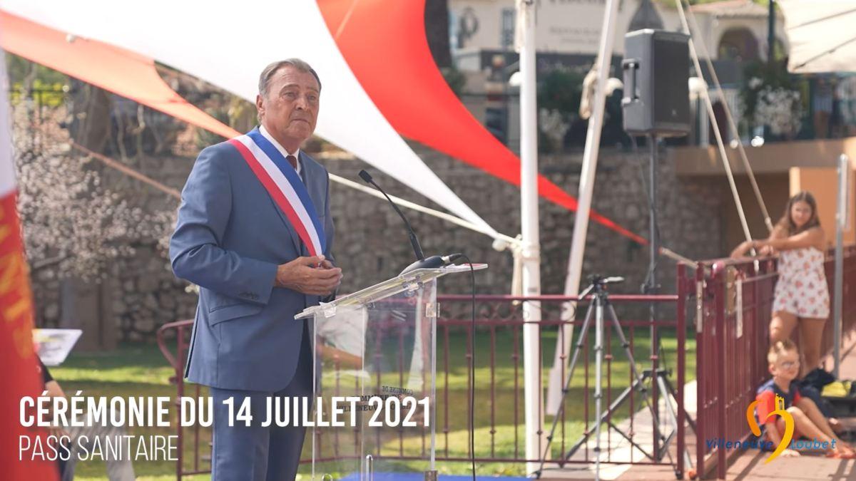 « Pass sanitaire » : extraordinaire discours de M. Lionnel Luca, maire de Villeneuve Loubet !