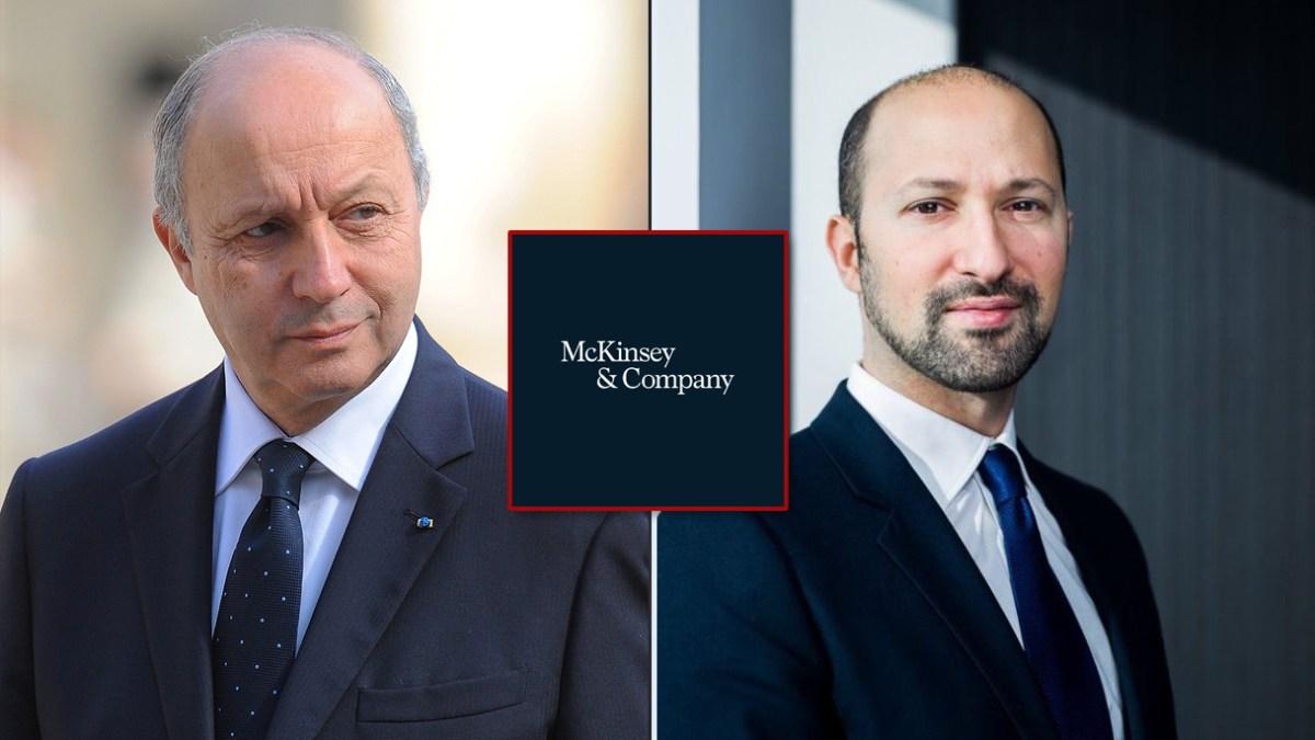 Covid-1984 : quand le Conseil constitutionnel présidé par Laurent Fabius doit sanctionner son fils Victor/McKinsey, le conseiller de Macron !