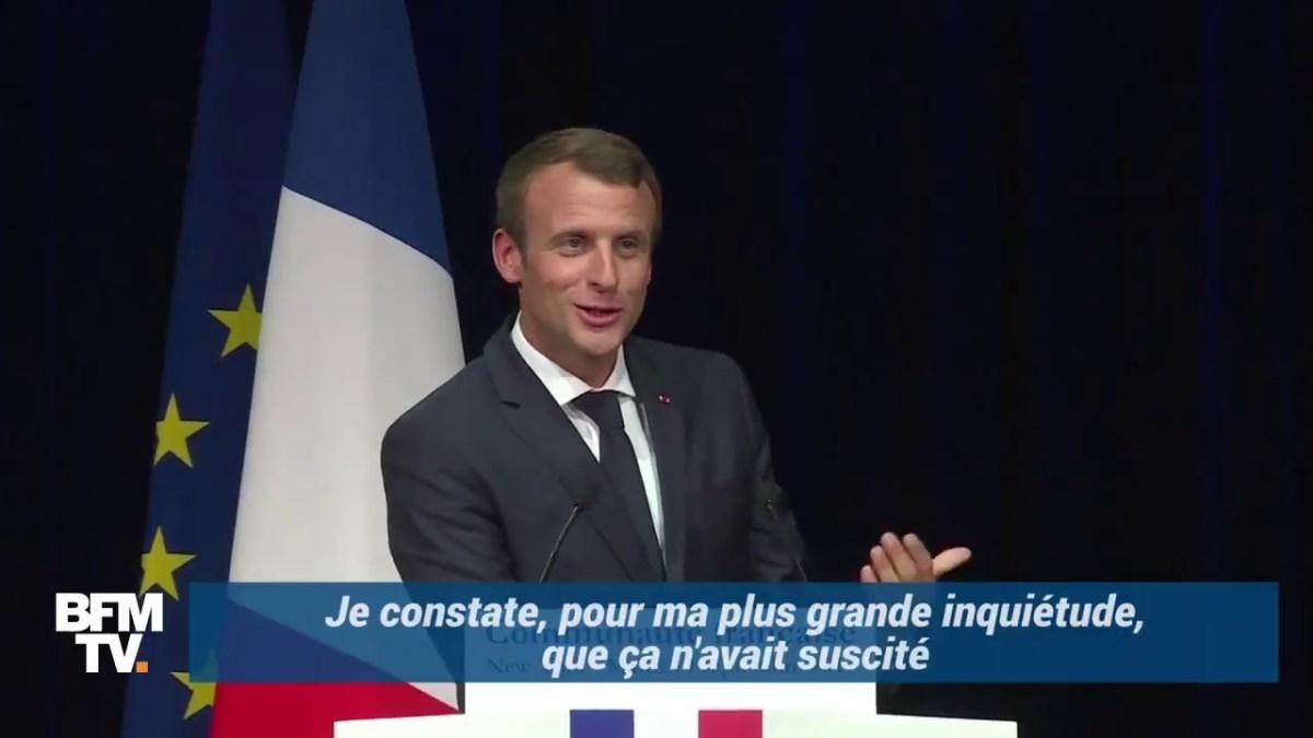 Emmanuel Macron et l'État de droit : un lapsus très révélateur !