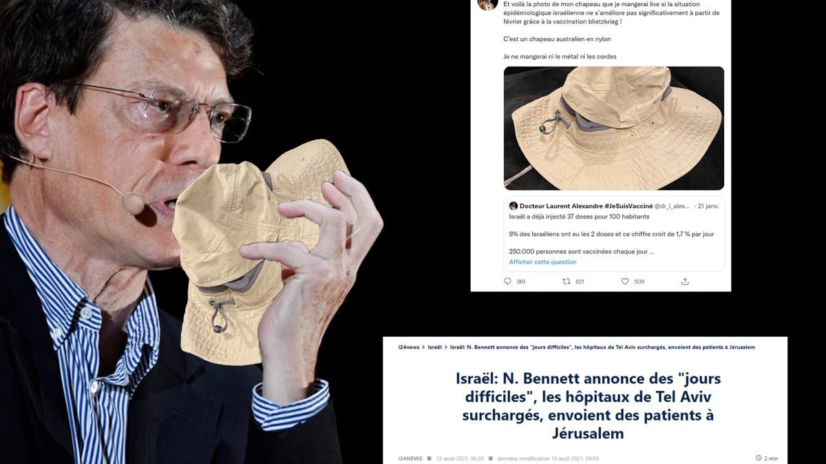Le taliban vaccinolâtre Laurent Alexandre va manger son chapeau !