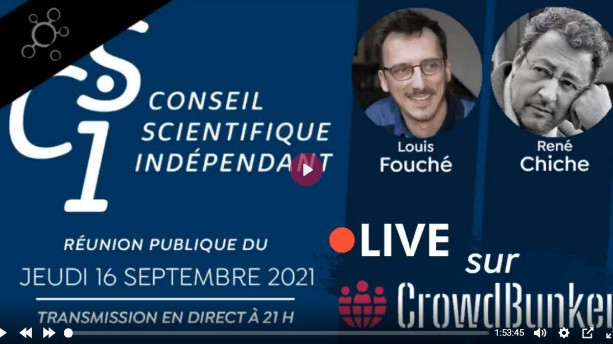 Importante réflexion de René Chiche, au CSI sur la bascule totalitaire en France !