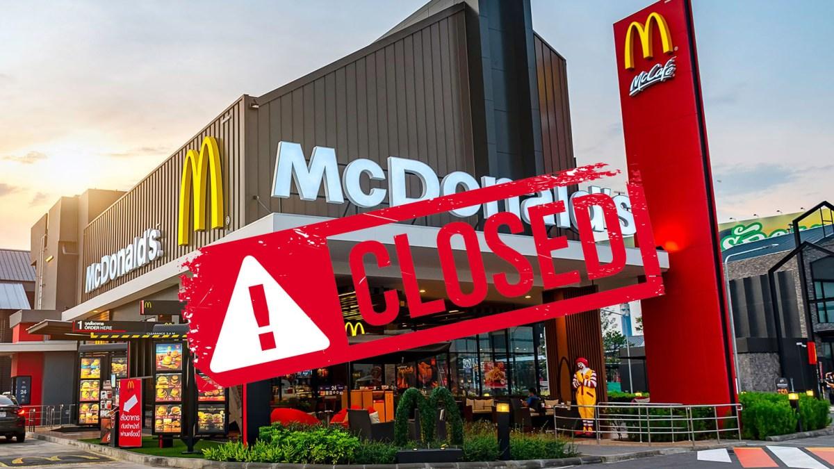 Pass sanitaire : faute d'employés, McDonald's ferme trois salles de restaurants !