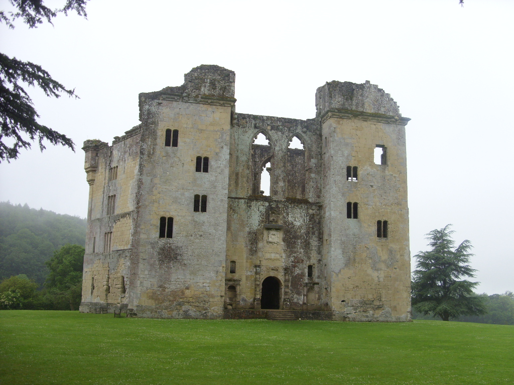 A Family Visit to Old Wardour Castle