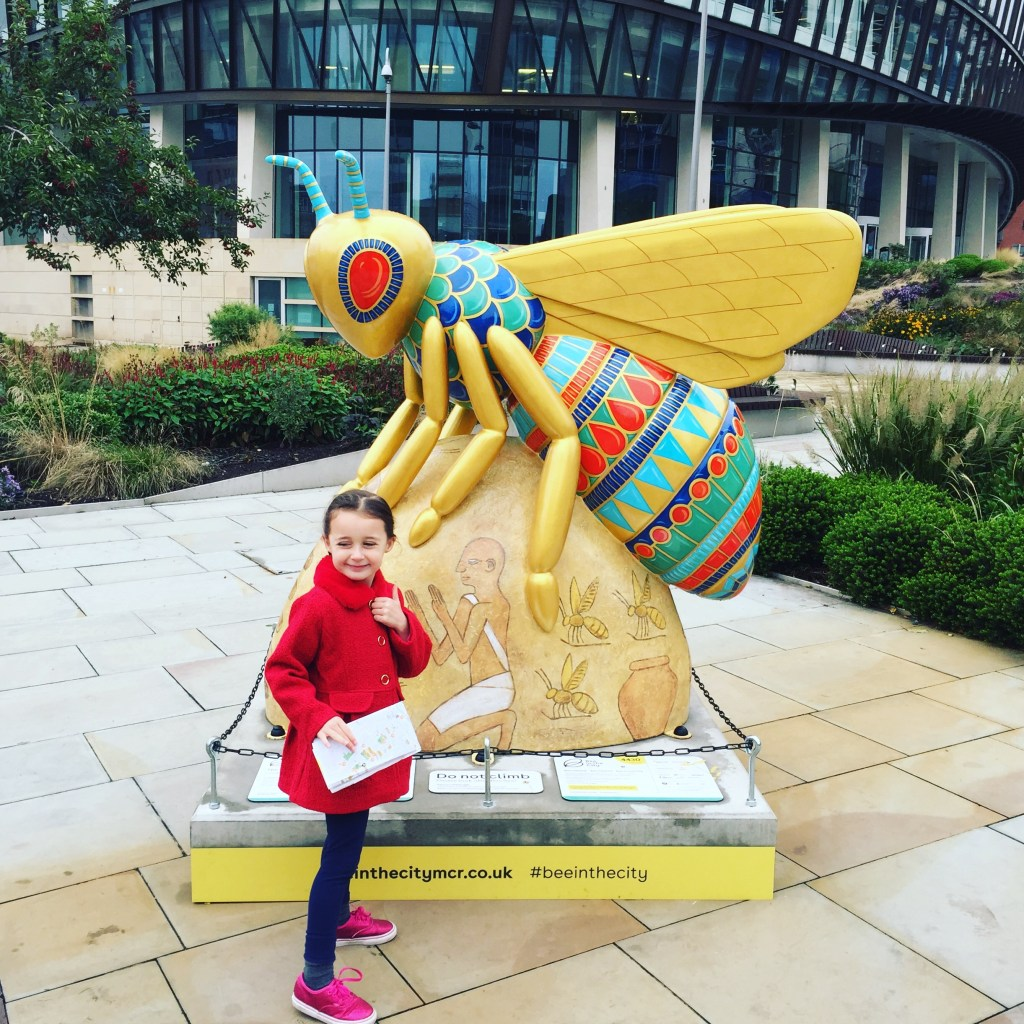 Manchester Bee in the City Trail