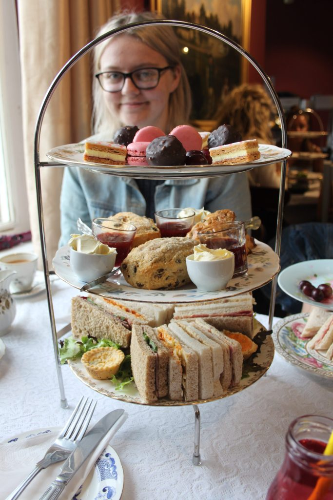 Afternoon Tea at Poppins at Smithills