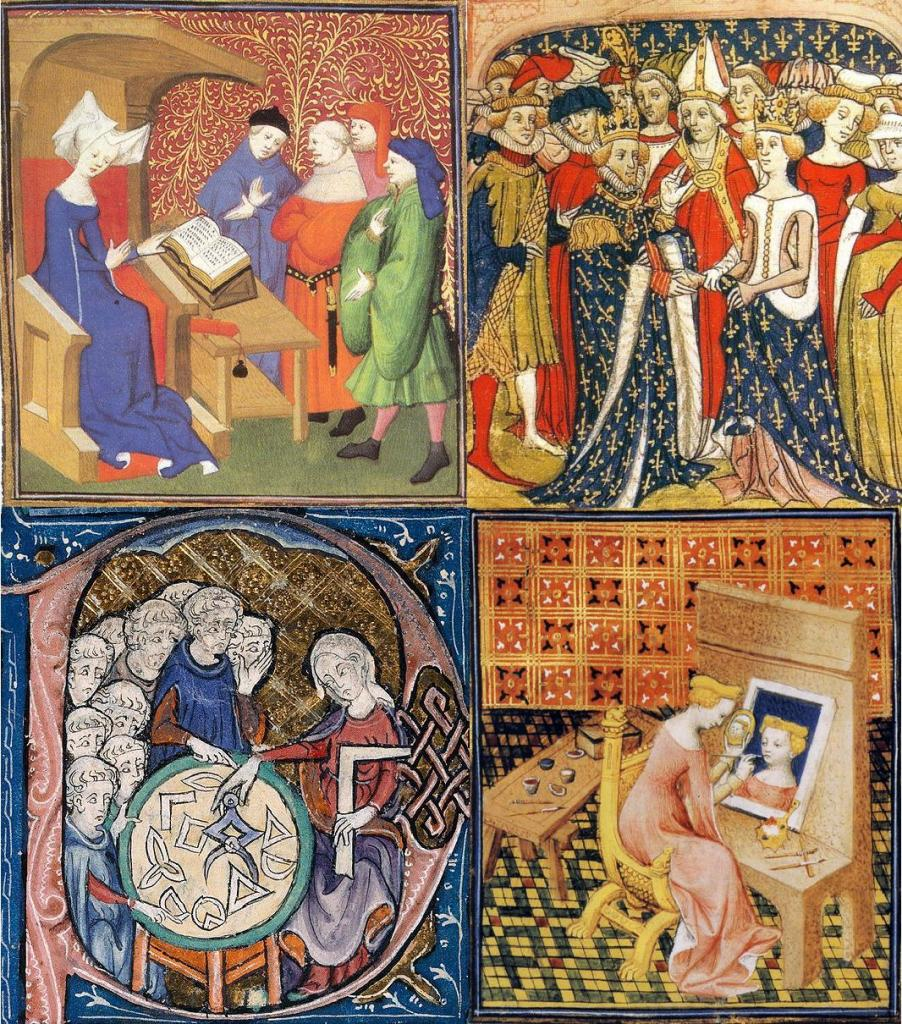 Activities of Women in the Middle Ages