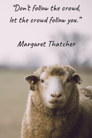 Inspirational Quote Thatcher