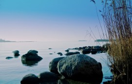 Strand Blekinge tidig morgon 02