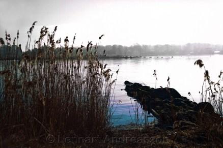 Tidig morgon Gö skärgård, Bleking Sweden