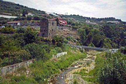Gammal och ny bebyggelse i Soldano
