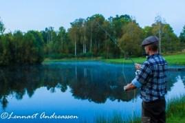 Alex kvällsfiskar