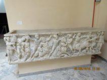Museo Ostiense. Sarcofago con scene di Centauromachia da Procoio di Pianabella (foto P.Petrocelli)
