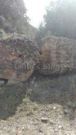 Tenuta di Castelporziano: muri del molo