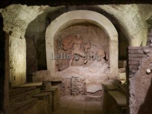Mitreo di S.Prisca: Dio Mitra e l'uccisione del toro