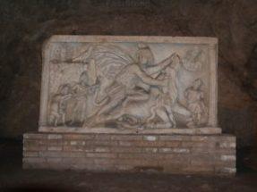 Mitraismo a Roma: Mitreo del Circo Massimo: la tauroctonia