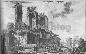Piranesi-Castello dell'acqua Giulia