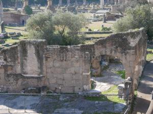 Foro di Nerva: abitazioni medievali