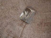Mausoleo del Monte del Grano: feritoia sulla volta