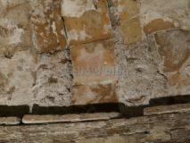 Mausoleo del Monte del Grano: mattonella della volta con bollo