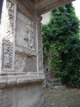 Arco degli Argentari: lato interno sinistro