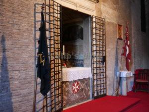Cappella Palatina: nicchia con l'altare