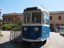 Tram e Tranvie di Roma. elettromotrice 404