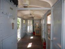 Treni e Tranvie di Roma. Elettromotrice 01, interno