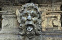 Fontana di Piazza Campitelli: particolare