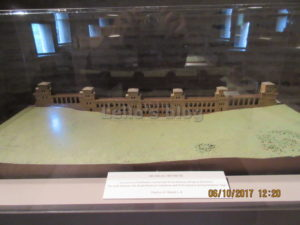 Porta S.Sebastiano: plastico delle mura
