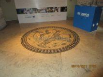 Museo delle Mura: mosaico tricolore