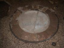 Mitreo delle Terme di Caracalla: olla nel pavimento