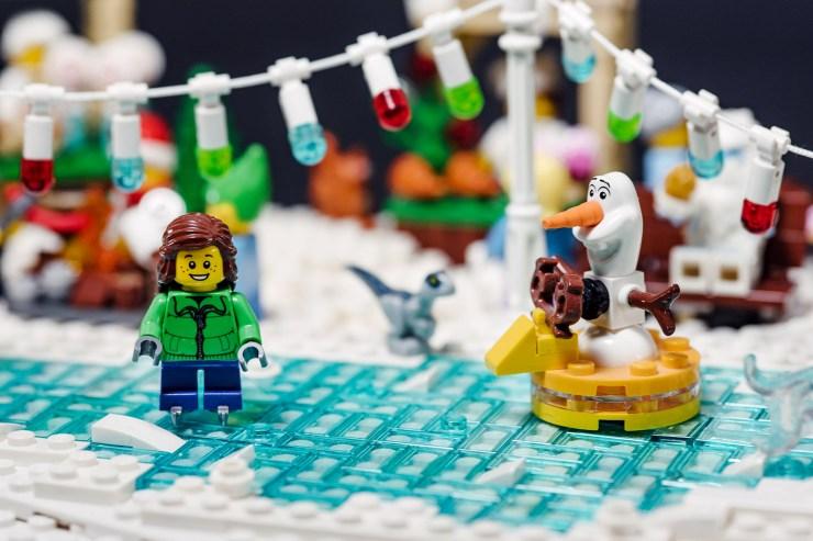 Olaf sur la glace