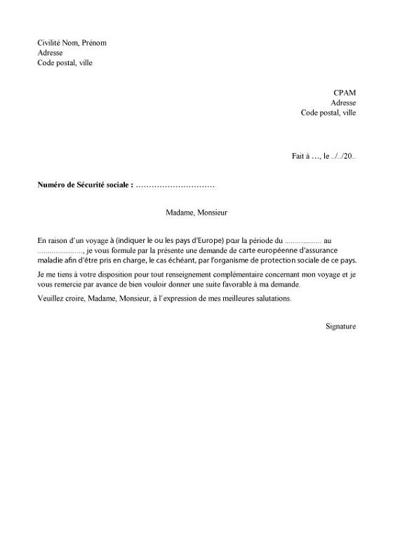 resiliation assurance voiture modele lettre