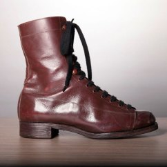 Notre Dame Chair Diy How To Make A Bean Bag 1930's Women Burgundy Boots