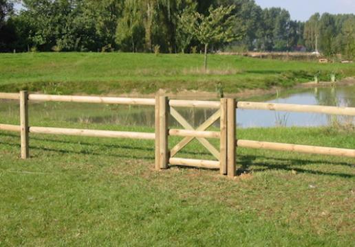 Clture Rurale Chevaux En Bois Plus Portillon REGION
