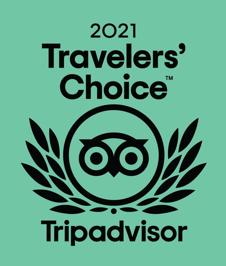 Le Mandriale, Travellers' Choice 2021 sur TripAdvisor