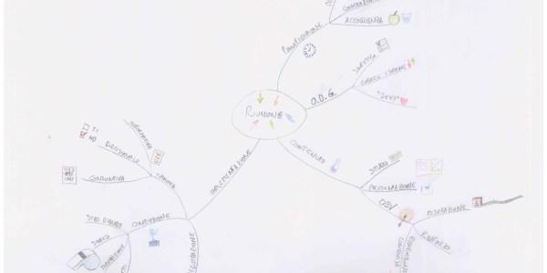 """Mappa mentale realizzata dal Dott. Inf. Luca Golinelli, nell'ambito del corso """"Le mappe mentali per C.O.O.R.D.I.N.A.R.E."""" per 240 coordinatori delle professioni sanitarie, ce si è tenuto presso la Direzione delle Professioni Sanitarie dell'AUSL Modena"""