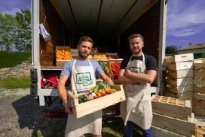 Chris et Malo : fruits