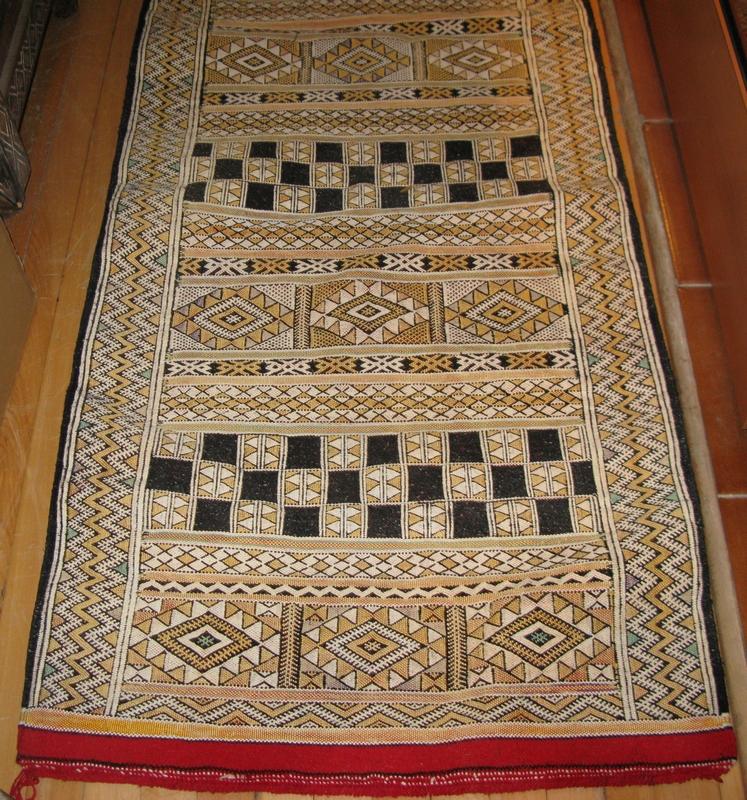 Moroccan runner kilim  Moroccan runner rug  Runner rug