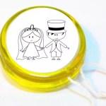 Ioiô Personalizado para Lembrança de Casamento
