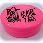Latinha Mint to be Plastica pink