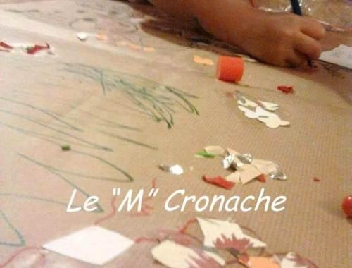 carta regalo decorata bambini
