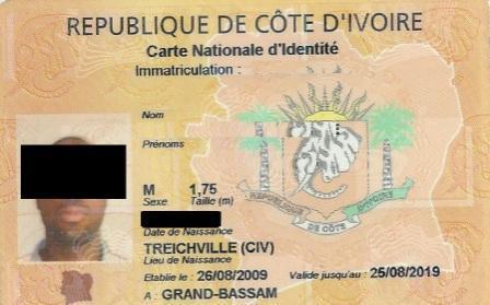 cout d une carte d identité Faux, le coût de la Carte d'identité n'est pas de 14 000 F CFA au