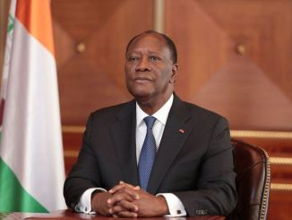 Alassane Ouattara a innové par une interview à la place d'un discours solennel ce 6 août (DR)
